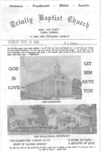 Church Program